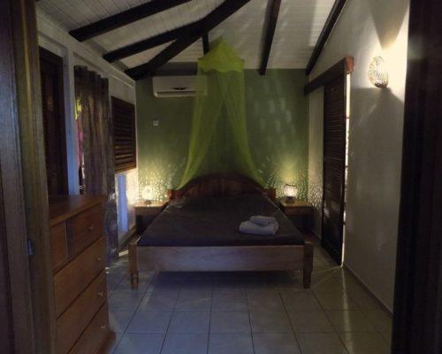 chambre lit double - villa dhslvlp3