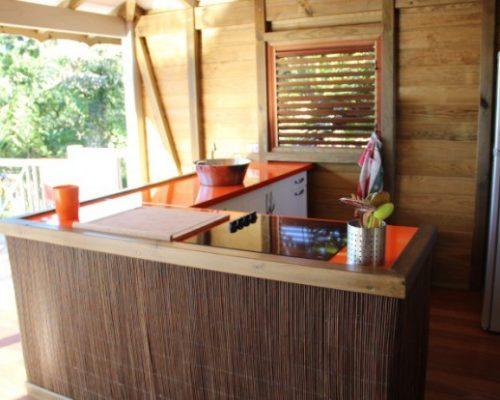 villa deshaies cuisine ouverte