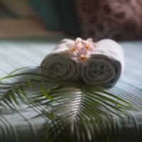 serviettes roulées conciergerie