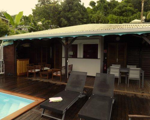 terrasse avec piscine - villa dhslvlp3